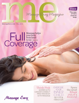 Interview with Massage Envy magazine