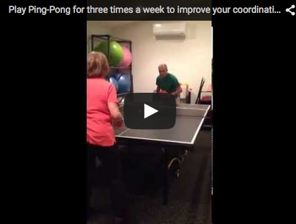 Play Ping-Pong for Three Times a Week to Improve Your Coordination