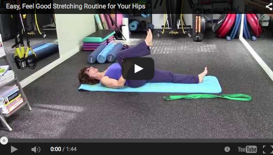 Easy, Feel Good Stretching Routine for Your Hips