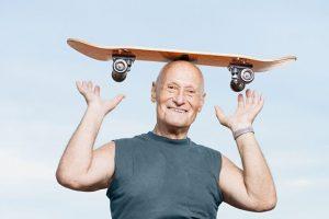 Balance equipment for senior exercise