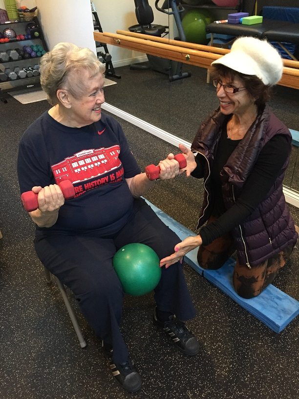 In-home or private gym training for seniors