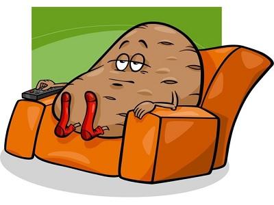 Baby Boomer Couch Potato