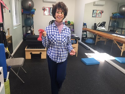 Balance Challenge with Weights for Seniors